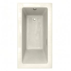 American Standard Studio 60-in L x 31.875-in W x 22.5-in H Linen Rectangular Air Bath