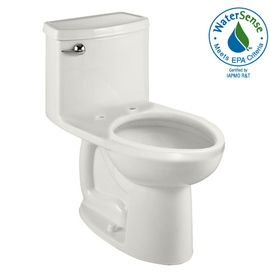 American Standard Cadet 3 White 1.28 GPF High Efficiency WaterSense Elongated 1-Piece Toilet
