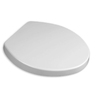 American Standard Boulevard Linen Plastic Round Slow Close Toilet Seat