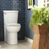 American Standard Clean White 1.28-GPF (4.85-LPF) 12-in Rough-in WaterSense Round 2-Piece Comfort Height Toilet