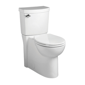 American Standard Clean White 1.28 GPF High Efficiency WaterSense Round 2-Piece Toilet