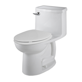 American Standard Saver White 1.28-GPF (4.85-LPF) 12-in Rough-in WaterSense Elongated Comfort Height Toilet