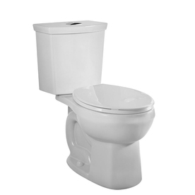 American Standard Clean White 1.6 GPF High Efficiency WaterSense Elongated Dual-Flush 2-Piece Toilet