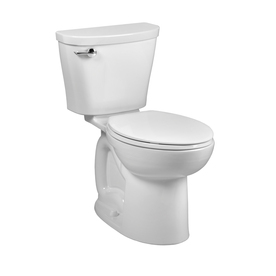 American Standard Saver White 1.28-GPF (4.85-LPF) 12-in Rough-in WaterSense Elongated 2-Piece Comfort Height Toilet