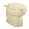 American Standard H2Option Chair Height Bone 12-in Rough-In Round Toilet Bowl