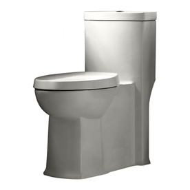 American Standard Boulevard White 1.1-GPF 12-in Rough-in WaterSense Elongated Dual-Flush Comfort Height Toilet