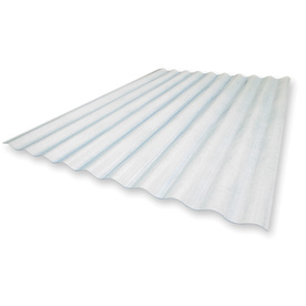 Sequentia 26-in x 8-ft Corrugated Fiberglass Roof Panel