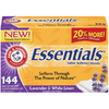 ARM & HAMMER 144-Count Lavender & White Linen Fabric Soft Sheets