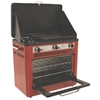 Camp Chef Camp Oven 24-in 3-Burner 1 lb Cylinder Electronic Ignition Outdoor Burner