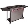 Camp Chef Somerset III 55.5-in 3-Burner 20 lb Cylinder Electronic Ignition Outdoor Stove