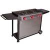 Camp Chef Somerset Iii 34-in 3-Burner Propane 20 Lb. Cylinder Electronic Ignition Outdoor Burner