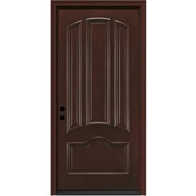 JELD-WEN 36-in 4 Panel Sequoia Inswing Entry Door