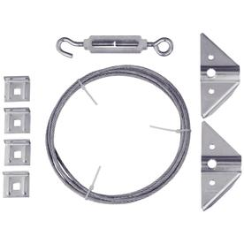 "Stanley-National Hardware 90"" Zinc Plated Anti-Sag Gate Kit"
