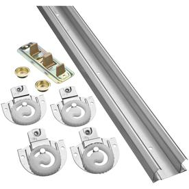 "Stanley-National Hardware 72"" Bi-Pass Door Sliding Closet Door Track Kit"
