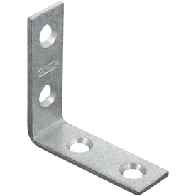 Stanley-National Hardware 1-1/2-in Metallic Corner Brace