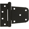 "Stanley-National Hardware 3-1/2"" Black Powder Coat Gate Hinge"