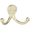 Gatehouse Zinc Die Cast Double Garment Hook