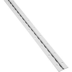 Gatehouse 1-1/2-in x 48-in Nickel Cabinet Hinge