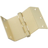Stanley-National Hardware 3-1/2-in Brass Entry Door Hinge