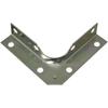 Stanley-National Hardware 4-Pack 3-in Zinc Corner Brace