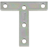 Stanley-National Hardware 2-Pack 3-in x 3-in Zinc-Plated T Plate Brackets
