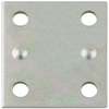 Stanley-National Hardware 4-Pack 1.375-in x 1.5-in Zinc-Plated Flat Braces