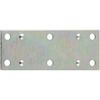 Stanley-National Hardware 4-Pack 1.375-in x 3.5-in Zinc-Plated Flat Braces