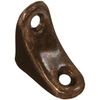 Stanley-National Hardware 4-Pack 1-in Antique Bronze Corner Braces