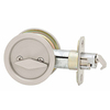 Stanley-National Hardware 2.125-in Satin Nickel Privacy Pocket Door Pull