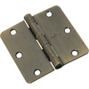 Gatehouse 3.5-in Antique Brass Entry Door Hinge