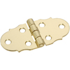Gatehouse 2-Pack 2-7/8-in Brass Entry Door Hinge
