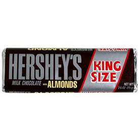 Hershey's 2.6-oz King Size Hershey's with Almond Candy Bar