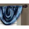 allen + roth 36-in L Blue Emilia Waterfall Valance