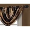 allen + roth Emilia 36-in Onyx Polyester Rod Pocket Valance