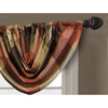 allen + roth 36-in L Rust Emilia Waterfall Valance