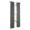 allen + roth 84-in L Slate City Park Curtain Panel