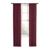 Style Selections Bernard 63-in Polyester Back Tab Light Filtering Single Curtain Panel