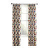 Style Selections Bernard 84-in L Floral Back Tab Window Curtain Panel