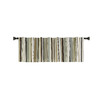 Style Selections 15-in L Green Bernard Tailored Valance