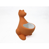 Style Selections Zoo Animals Orange Ceramic Toothbrush Holder