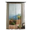 Solaris Mesh 108-in L Black Outdoor Window Sheer Curtain