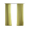 Solaris Canvas Solid Outdoor Window Curtain Panel