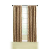 Style Selections Chateau Tapestry 95-in L Light Filtering Back Tab Window Curtain Panel