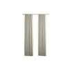 allen + roth Carronbridge Room Darkening Solid Thermal Back Tab Window Curtain Panel