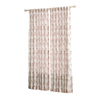 allen + roth Wintondale 84-in L Light Filtering Floral Coral Back Tab Window Curtain Panel