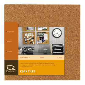 "Style Selections 4-Pack 12""x12"" Cork Tile"