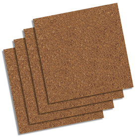 QUARTET 12-in x 1-ft Natural Cork Shelf Liner
