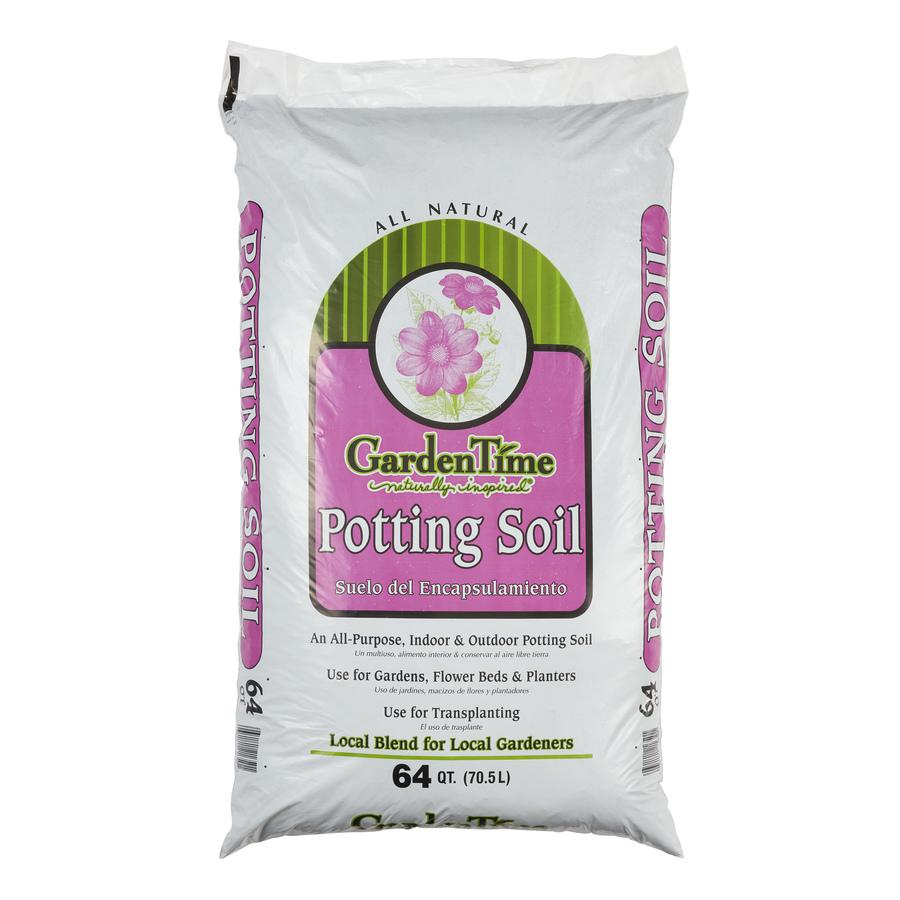 Shop garden time 64 quart potting soil at for Potting soil clearance