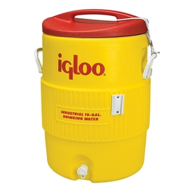 Igloo 10-Gallon Yellow Poly Beverage Dispenser