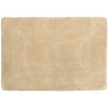 allen + roth 17-in x 24-in Beige Cotton Bath Mat
